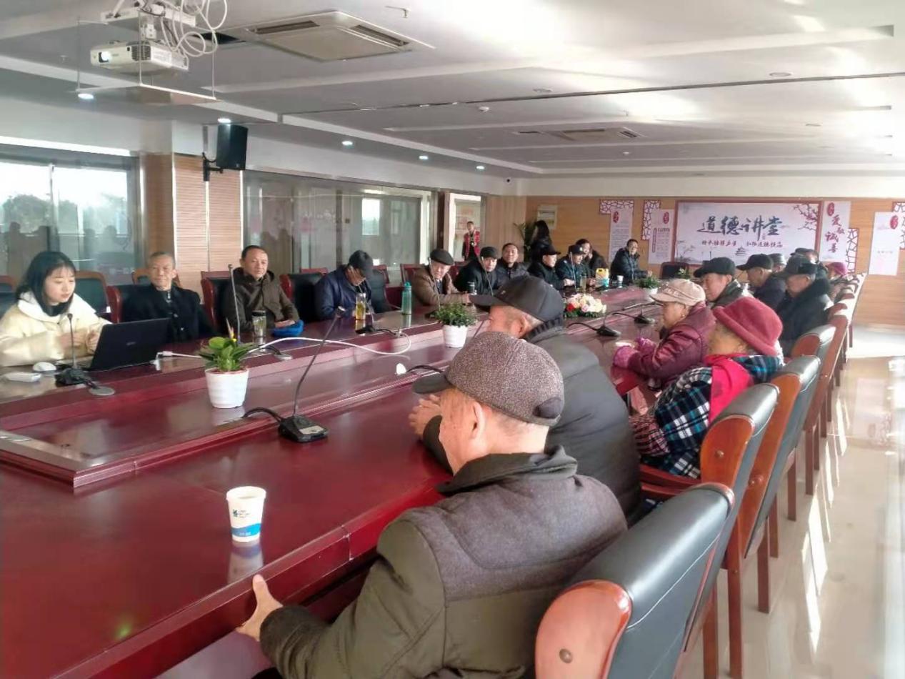 金谷社區開展黨的十九屆五中全會精神宣講活動