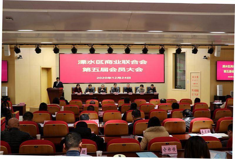 溧水區商業聯合會第五屆會員大會成功召開