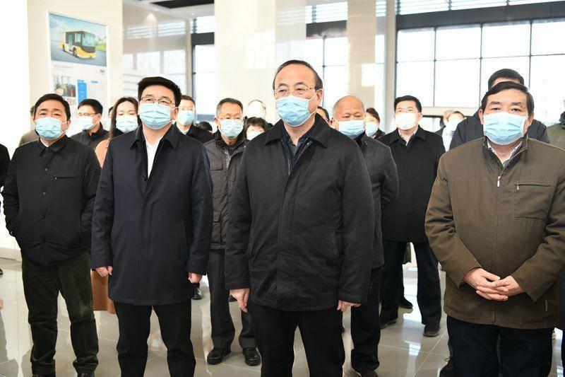 安徽省滁州市党政代表团来溧水考察
